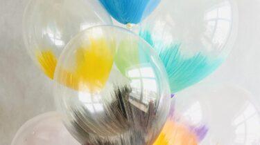 Гелиевые шарики с краской – делаем наш мир ярче