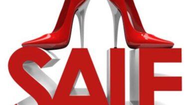 Выгодные распродажи обуви к концу лета